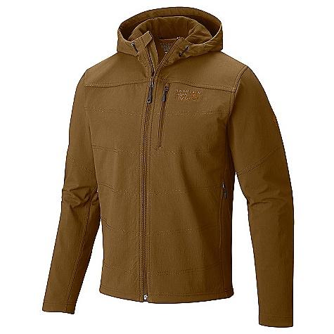 Mountain Hardwear Ruffner Hybrid Hooded Jacket
