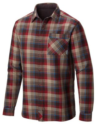 Mountain Hardwear Men's Reversible Flannel Plaid LS Shirt