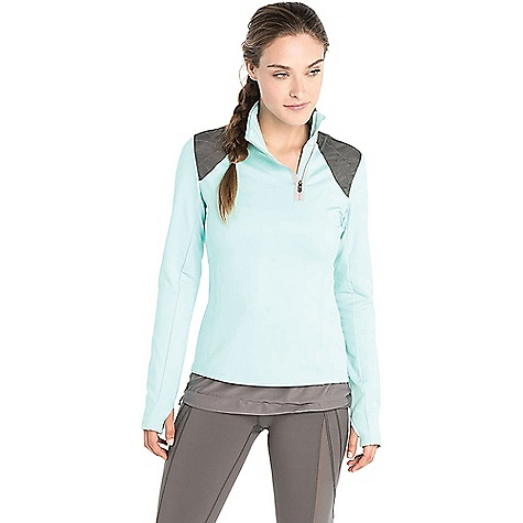 Lole Women's Performance Top Clearly Aqua