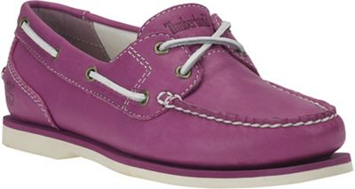 Timberland Women's Earthkeepers Classic Boat Amherst 2 Eye Textile - Lined Boat Shoe