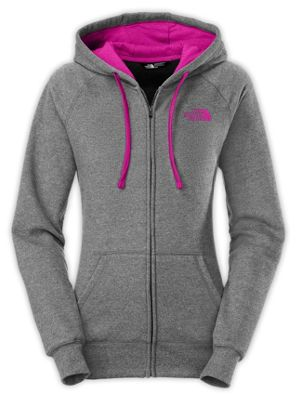The North Face Women's EMB Logo Full Zip Hoodie