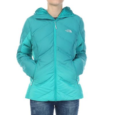 The North Face Women's Fuseform Dot Matrix Hooded Down Jacket