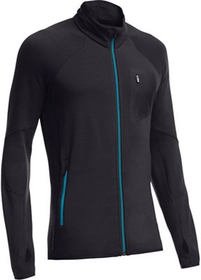 Icebreaker Men's Atom LS Zip Jacket