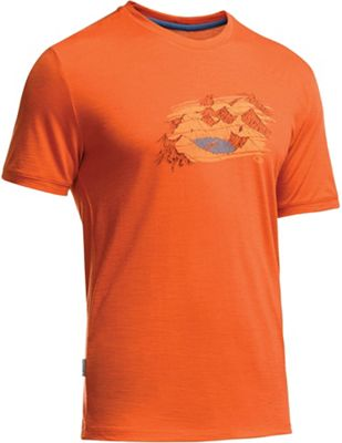 Icebreaker Men's Tech Lite SS Crewe Lost Tee