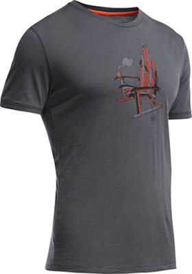 Icebreaker Men's Tech Lite SS Crewe Ski Rocker Tee
