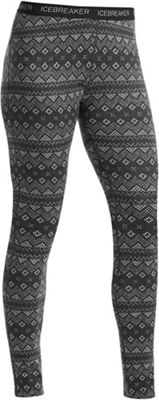 Icebreaker Women's Vertex Leggings Icon Fairisle