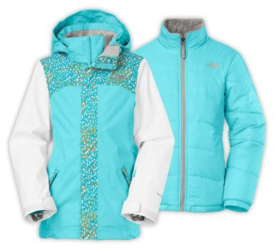 The North Face Girls' Abbit Triclimate Jacket