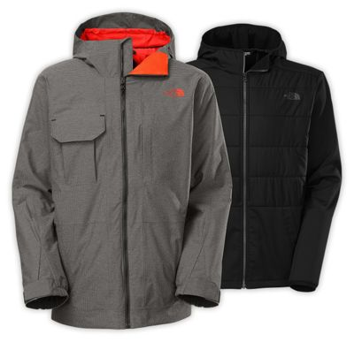The North Face Men's Hoodman Triclimate Jacket