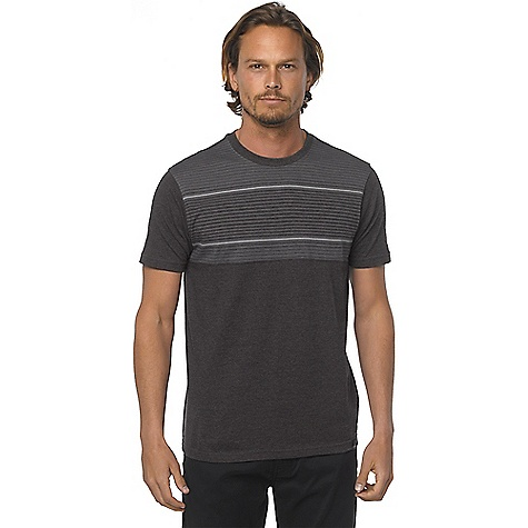 Prana Men's Marco Crew Black Heather