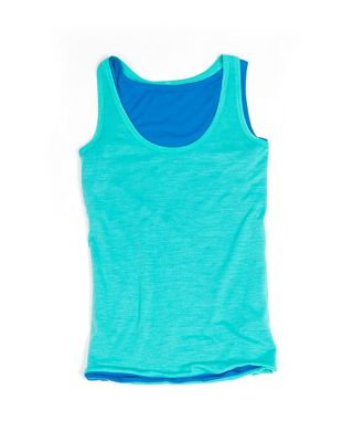 Super Natural Women's Double Layer Tank Top