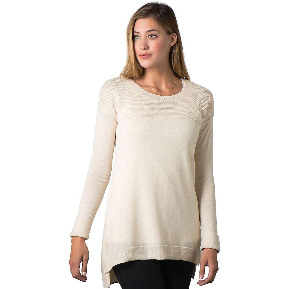 Toad & Co. Women's Gypsy Crew Sweater - XL - Polar Bear