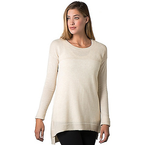 Toad & Co. Women's Gypsy Crew Sweater Polar Bear