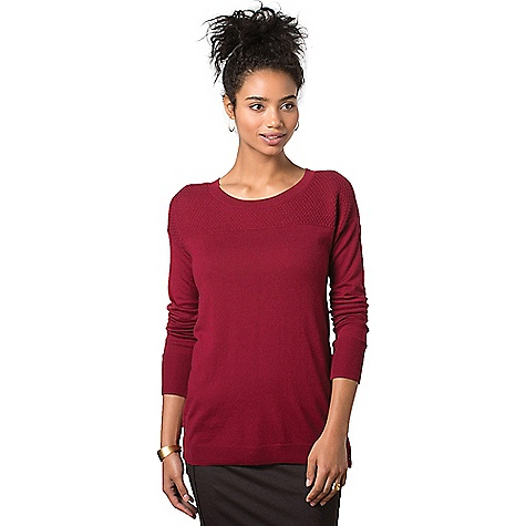 Toad & Co. Women's Gypsy Crew Sweater House Red
