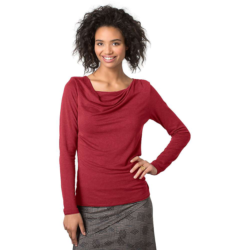 Toad & Co Women's Revery LS Top - Large - House Red