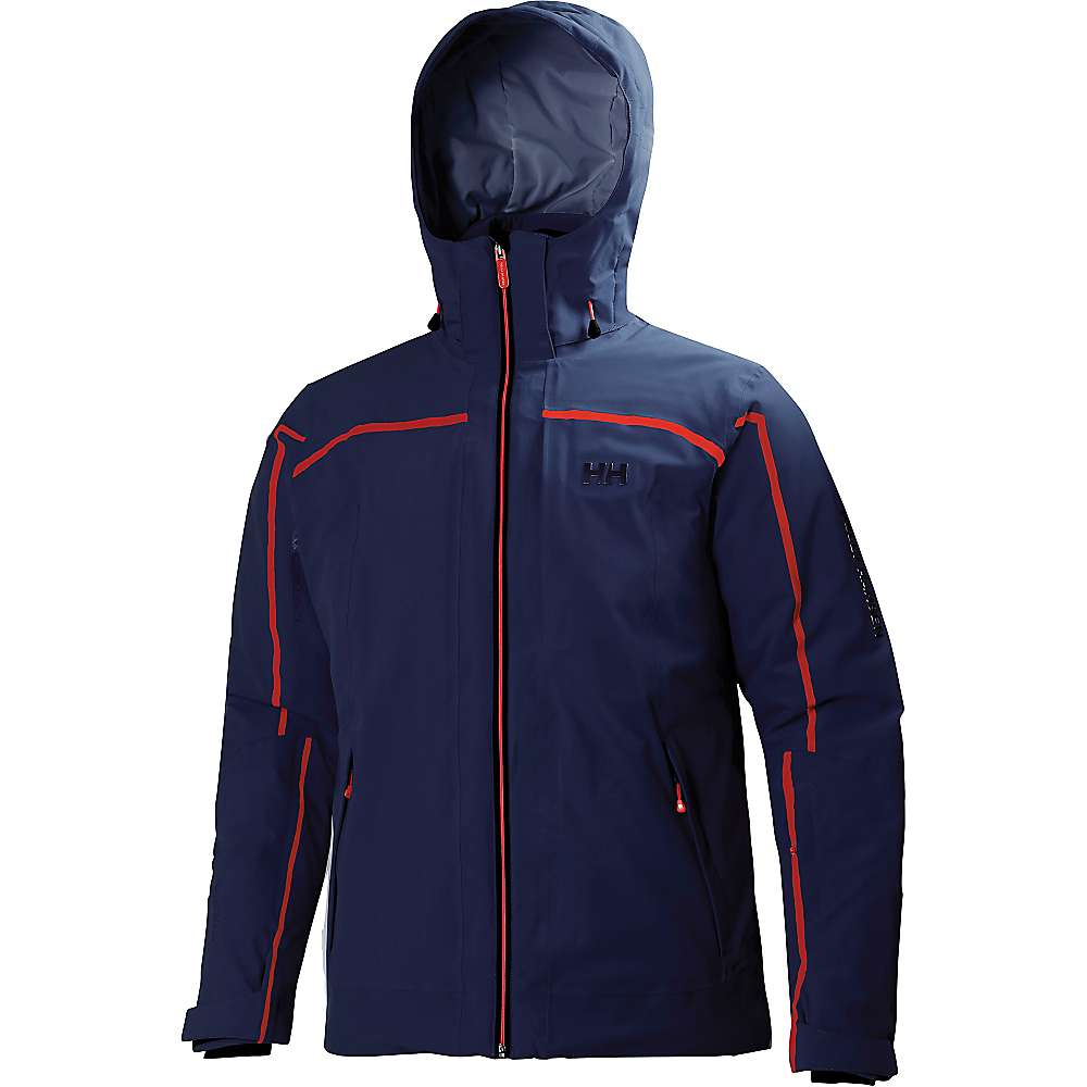 Helly Hansen Men's Podium Jacket - Large - Evening Blue