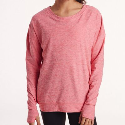 Oiselle Women's Lux Sweatshirt LS Top