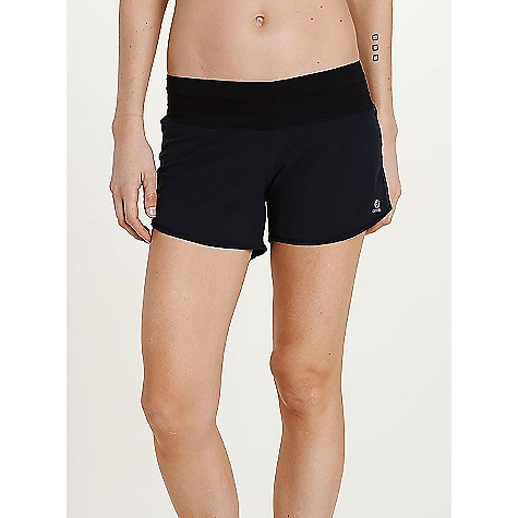 Oiselle Women's Roga Short Plum / Sticks Print