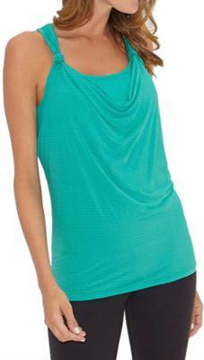 Beyond Yoga Women's Sleek Stripe Knotted Tank