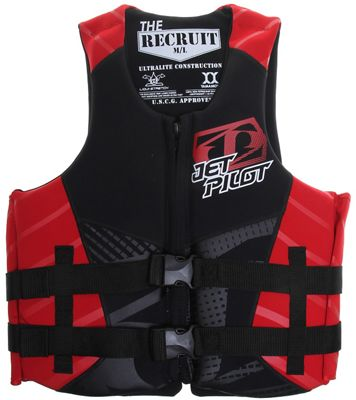 Jet Pilot Recruit Neo Wakeboard Vest - Men's