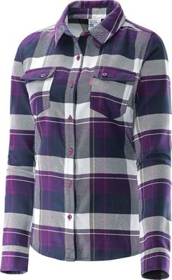 Salomon Women's Mystic Flannel LS Shirt