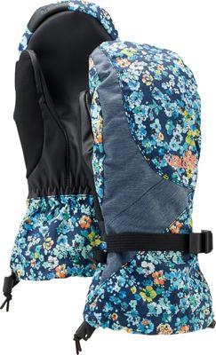 Burton Approach Under Mittens Confetti Floral Denim - Women's