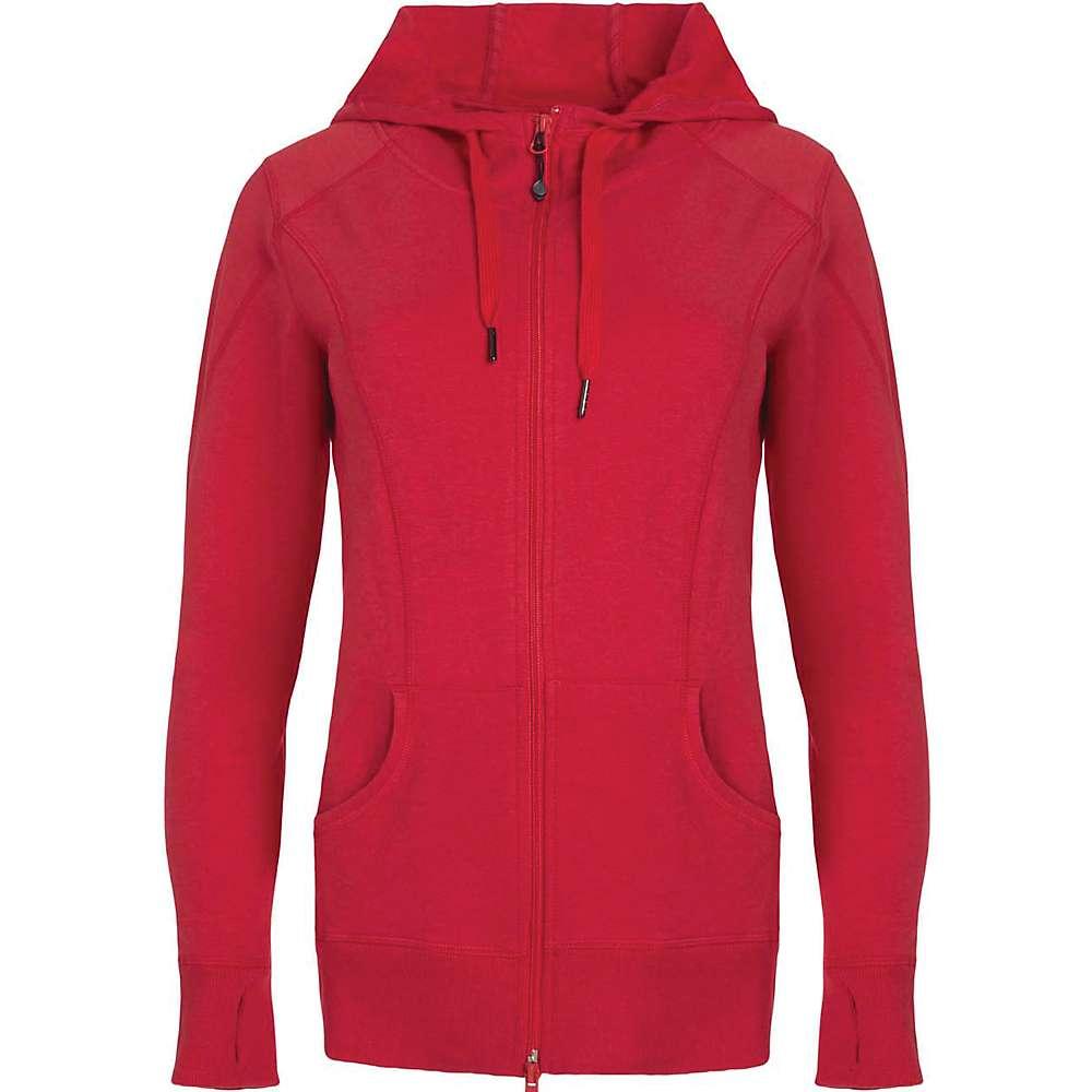 Tasc Women's Uptown Full Zip Hoodie - Medium - Red Hot