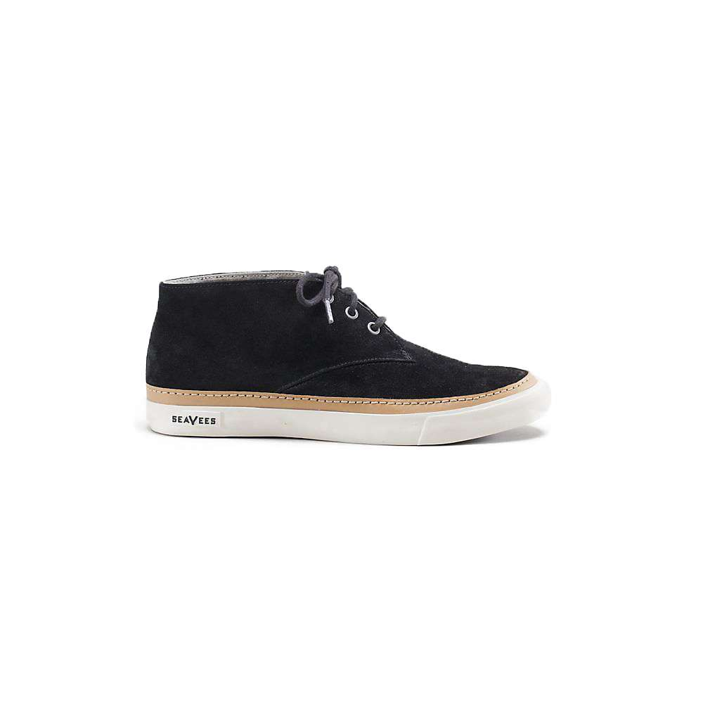 SeaVees Men's Desert Boot - 11.5 - Black Sueded Leather
