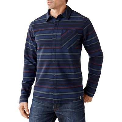 Smartwool Men's Akalii Striped Flannel Shirt