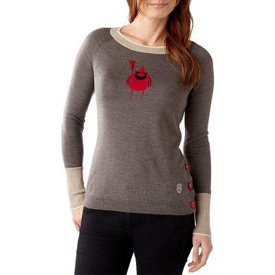 Smartwool Women's Charley Harper Cardinal Intarsia Sweater