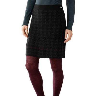 Smartwool Women's Knit Houndstooth Skirt