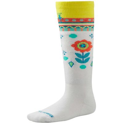 Smartwool Kid's Wintersport Flower Patch Sock