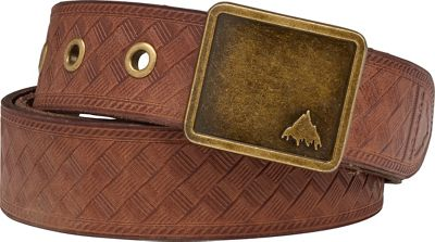 Burton Embossed Leather Belt - Women's