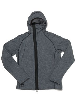 66North Men's Vik Heather Hooded Jacket