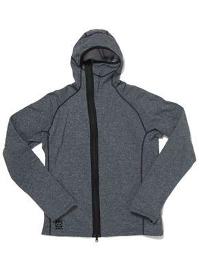 66North Men's Vik Heather Hooded Jacket