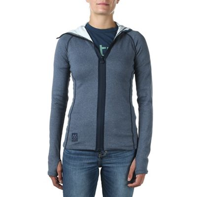 66North Women's Vik Heather Hooded Jacket