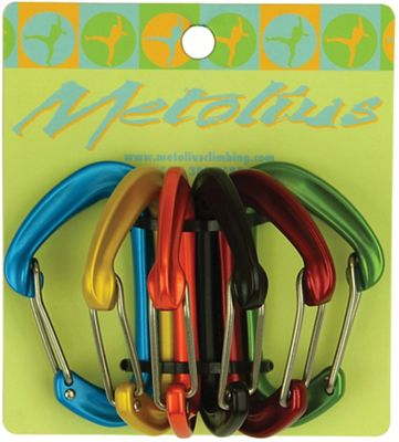 Metolius FS Mini II Carabiner Jet Set 6 Package