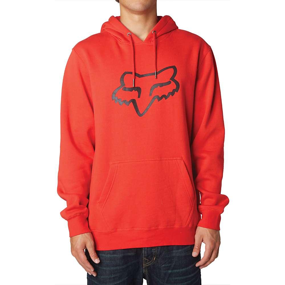 Fox Men's Legacy Fox Head Pullover Fleece Hoody - Small - Flame Red