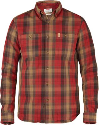 Fjallraven Men's Kiruna Heavy Twill LS Shirt