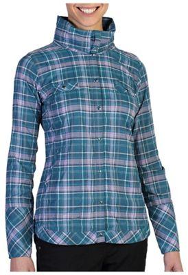ExOfficio Women's Alba Plaid LS Shirt