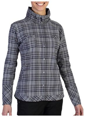 ExOfficio Women's Alba Plaid LS Shirt