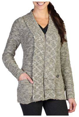 ExOfficio Women's Icelandia Boucle Zip Cardigan