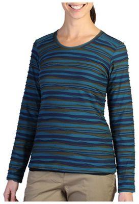 ExOfficio Women's Techspressa Stripe LS Top