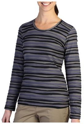 ExOfficio Women's Techspressa Stripe LS Top