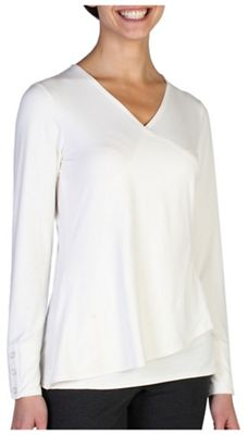 ExOfficio Women's Wanderlux Crossfront LS Top