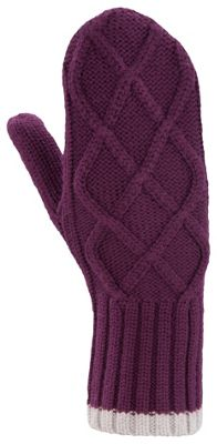 Ibex Women's Cable Sweater Mitten