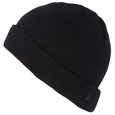 Ibex Men's Knit Watchcap Black