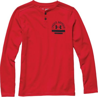 Under Armour Boys' 12.1 LS Henley Top