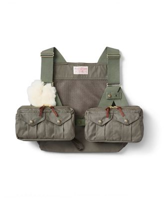 Filson Men's Mesh Fly Fishing Strap Vest