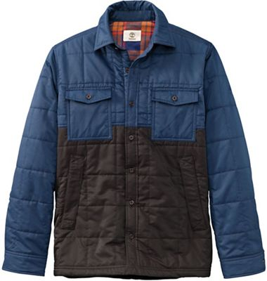 Timberland Men's Mill Brook Quilted Overshirt