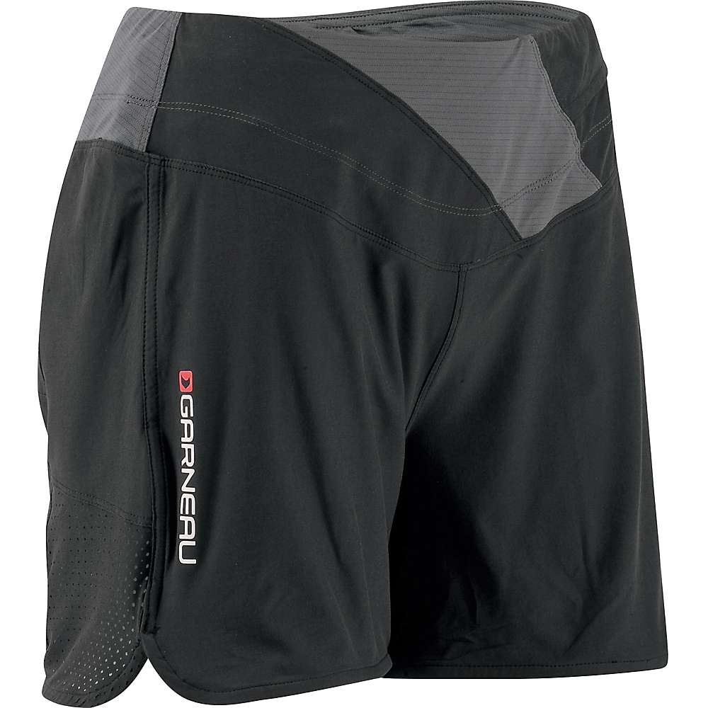 Louis Garneau Women's Rio Shorts - XL - Black / Grey